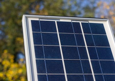 solar panel for LED signs