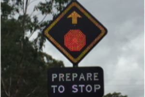 led signs - solar powered road signs australia