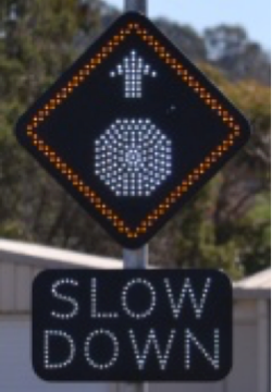 solar powered road signs - solar powered led signage australia