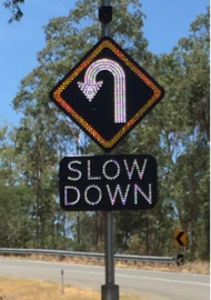 led traffic signs - led speed signs australia