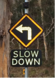 solar powered road signs - solar powered led signage australia